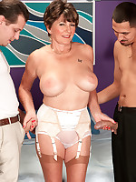 60 Plus MILFs - Bea Cummins Returns...For A Threesome! - Bea Cummins (59 Photos)