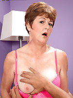 50 Plus MILFs - Allura's First Time - Allura James (28 Photos)